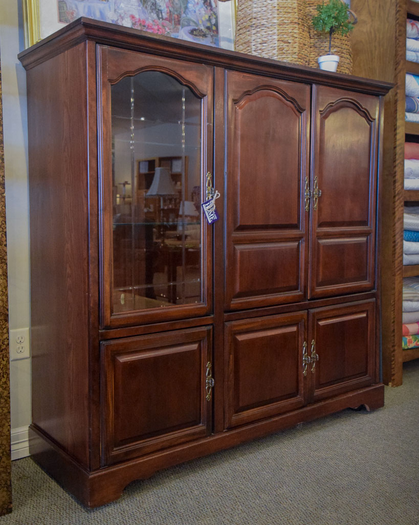 Lighted Entertainment Center New England Home Furniture Consignment