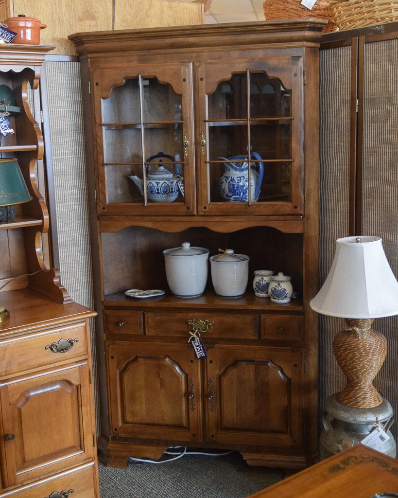 Temple Stuart Corner Hutch New England Home Furniture