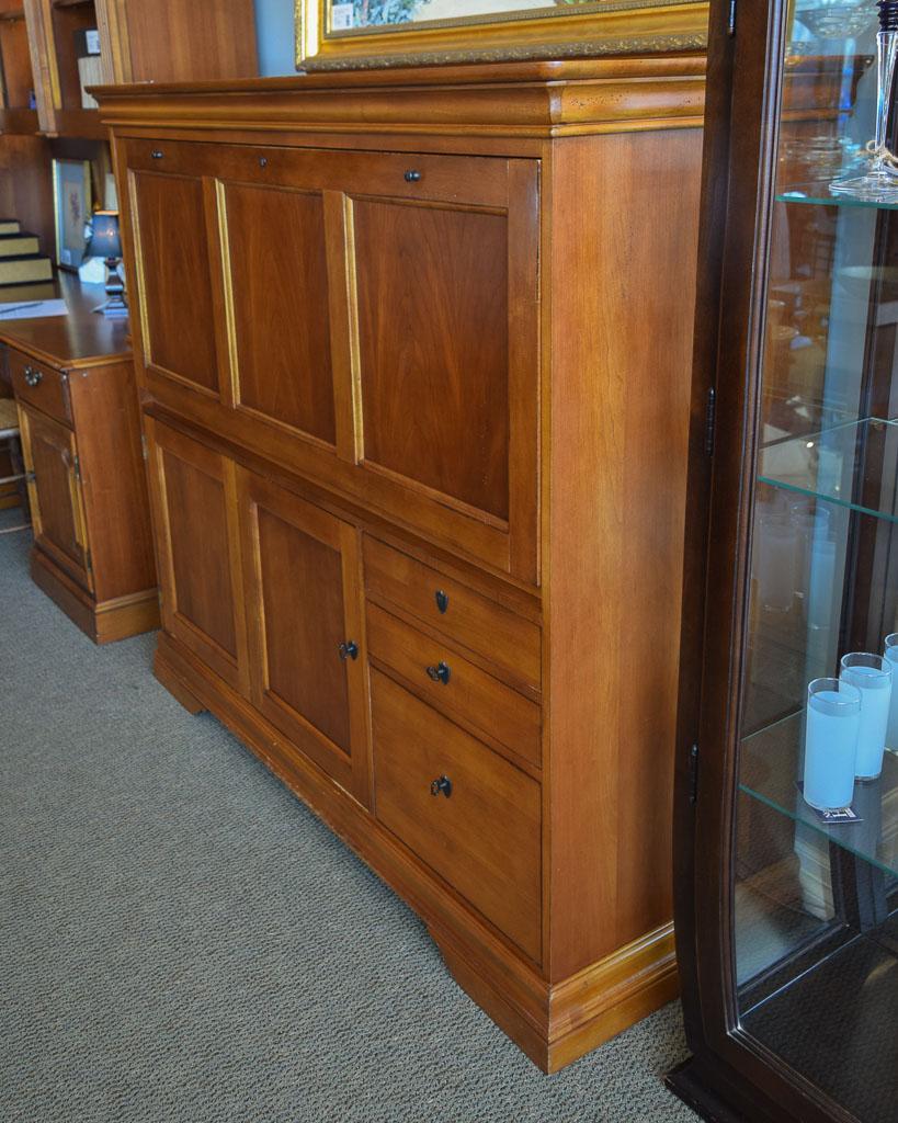 382c1a86704 Hooker Desk Armoire