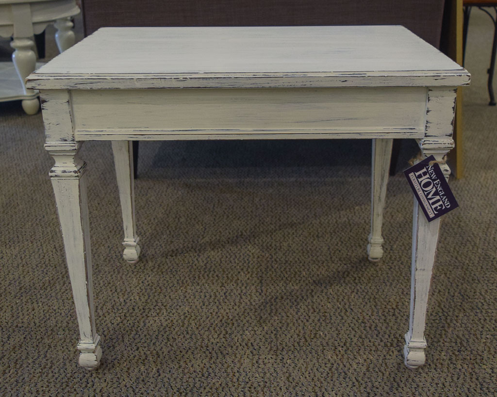 Shabby Chic End Table New England Home Furniture Consignment