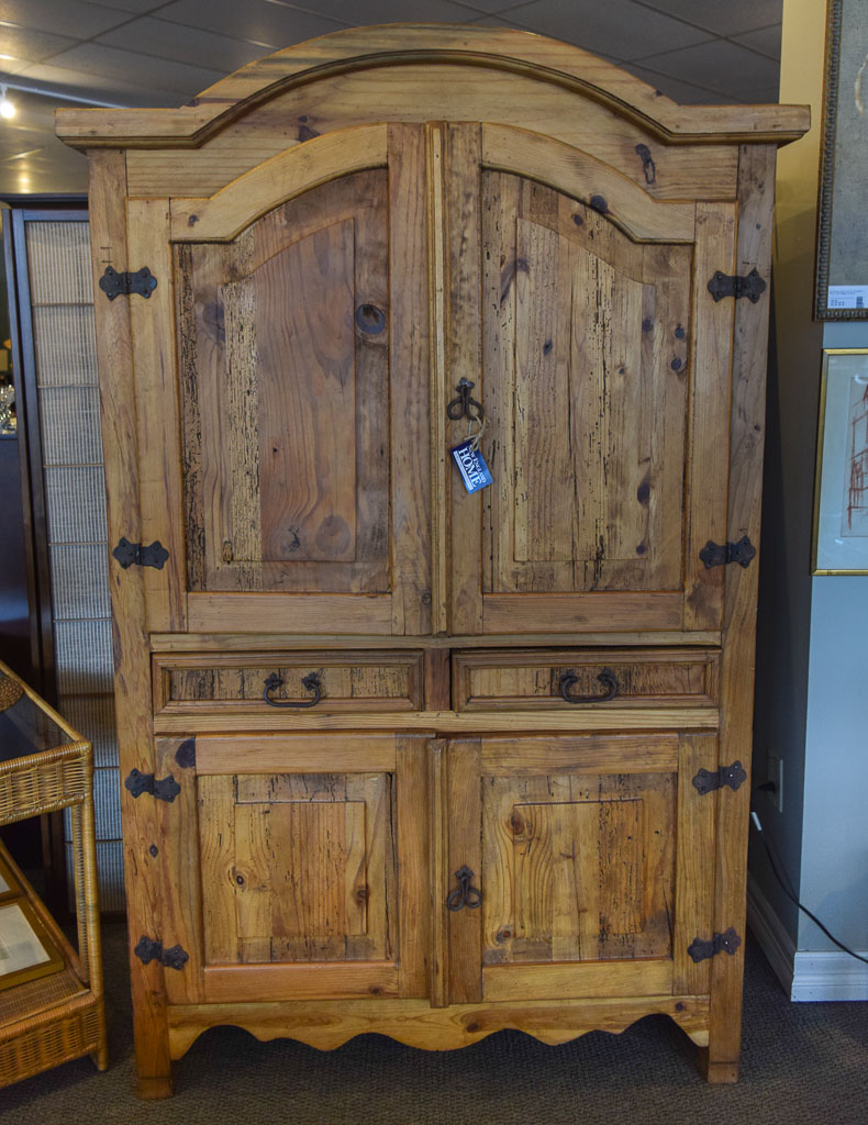 Rustic TV Armoire | New England Home Furniture Consignment