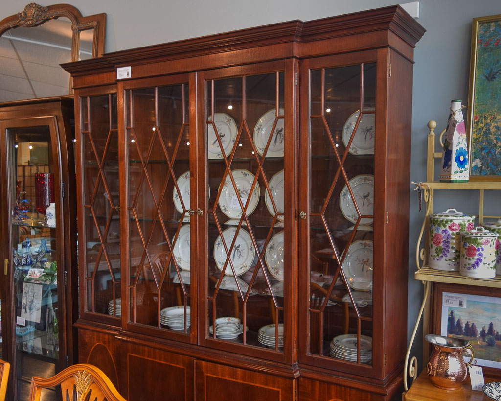Baker Breakfront China Cabinet
