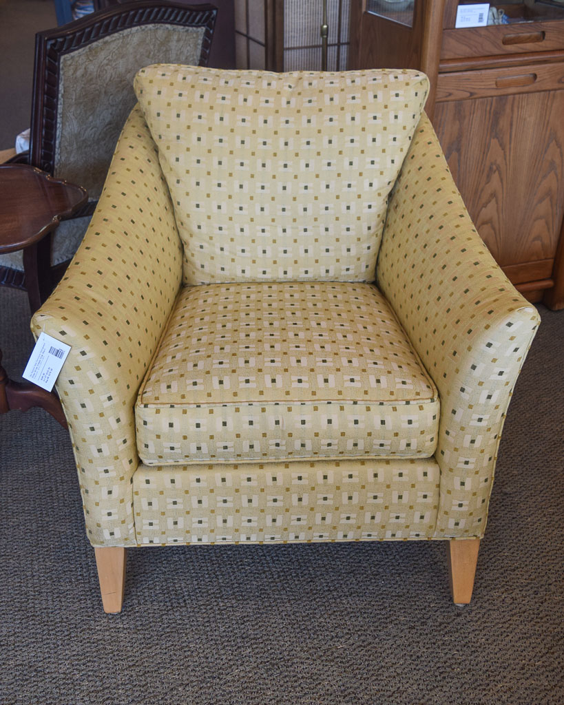 Gentil Ethan Allen Gibson Club Chair