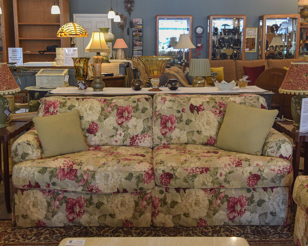 Rowe Floral Sofa New England Home Furniture Consignment