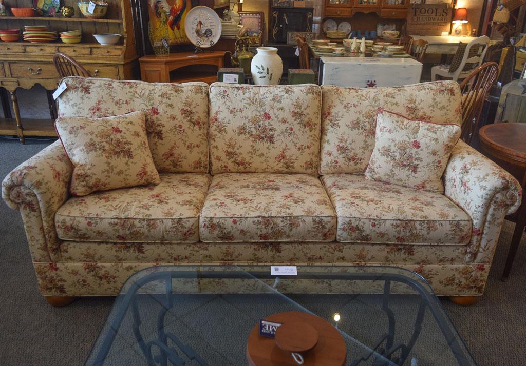 Delicieux Ethan Allen Floral Sofa