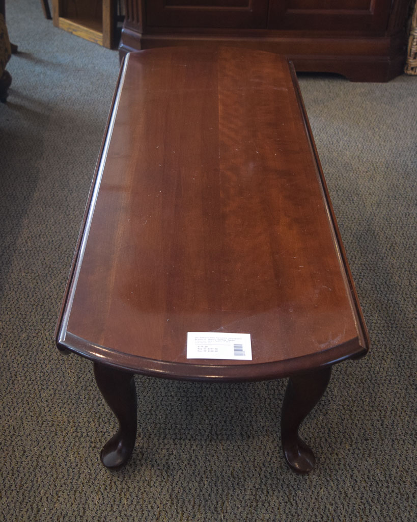 Broyhill Cherry Coffee Table New England Home Furniture