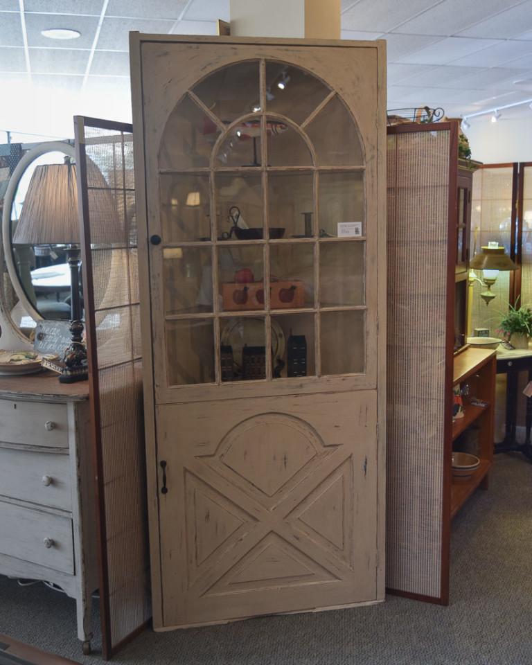 Custom 1800's Corner Cabinet   New England Home Furniture ...