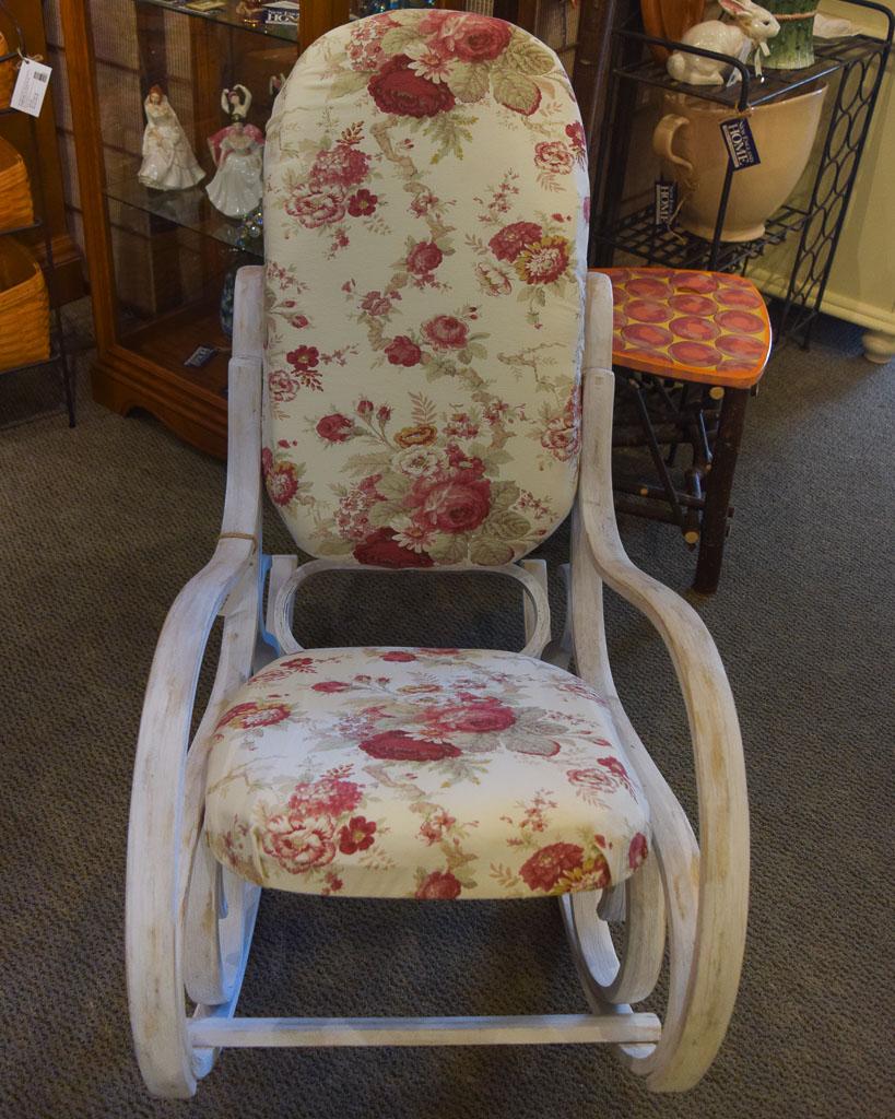Charmant Shabby Chic Rocking Chair
