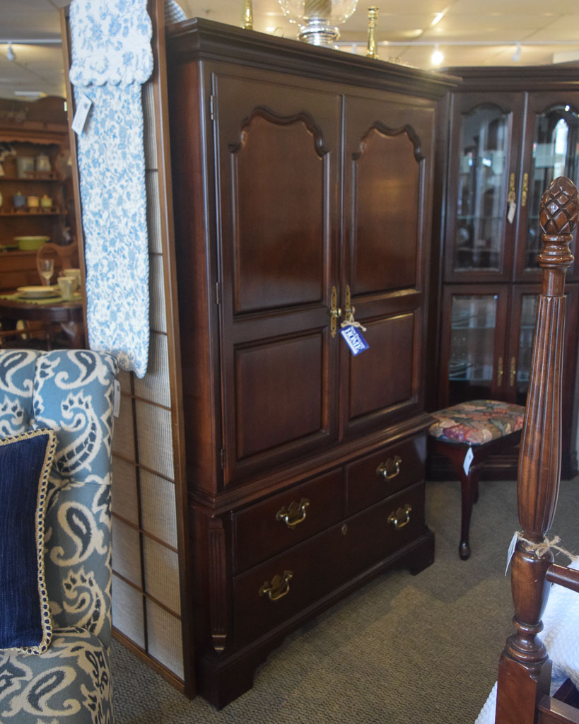 Drexel Cherry Dressing Armoire New England Home