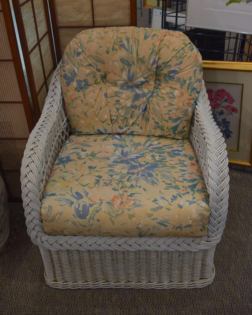 Henry Link Wicker Chair